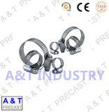 American Type Carbon Stainless Steel Hose Pipe Clip / Hose Clamp