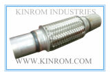 Universal Exhaust Flexible Pipe Replacement with Aluminized Nipples
