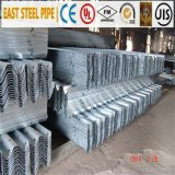 Corrugated Sheet Steel Beams for Highway Guardrail with Post