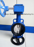 Double Half Stem Wafer Butterfly Valve