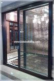 Australia Standard Energy Saving Double Glazing Aluminum Door