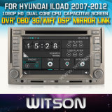 Witson Car DVD for Hyundai Iload 2007-2012 Car DVD GPS 1080P DSP Capactive Screen WiFi 3G Front DVR Camera