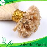 613# Blonde Human Virgin Hair Nail Hair Extensions