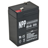 SLA Rechargeable Battery for UPS Systems (6V4Ah)