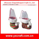 Christmas Decoration (ZY15Y170-1-2) Christmas Boot Promotion Gift