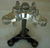 Motorcycle Steering Stem for Cg (Fork Tee, Fork Upper, Fork top Bride, Connect Board, Bottom)