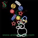 LED Snowman Motif Light for Christmas Outdoor Decoration