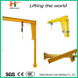 Fixed-Column Style Slewing Jib Crane