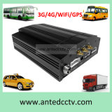 8 Channel HDD Vehicle Bus Car Mobile DVR with 3G 4G GPS WiFi