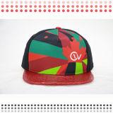 Hat Custom Leather Snapback Cap Leather Baseball Hat