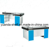 Steel Supermarket Retail Shop Store Cash Checkout Counter
