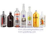 3 Color CNC Glass & Plastic Bottle Screen Printer