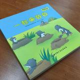 High Quality Children Board Book Printing Die Cut Hold Book