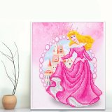 Factory Direct Wholesale Children DIY Crystal Oil Painting Photo Frame FK-055