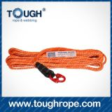 Color Synthetic ATV Winch Rope Rope Winch Rope Attachment