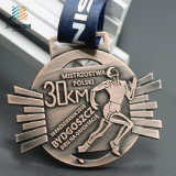 Custom Metal Marathon Running Sports Medals