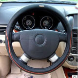 Bt 7226the Lamb Leather Fashion Pulse Steering Wheel Cover Fashion Element