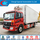 Foton 4X2 Refrigerator Truck for Frozen Seafood