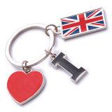 New Custom Metal Souvenir England Keyring