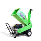 420cc Gasoline Loncin Engine Powered Wood Chipper Shredder with TUV Ce