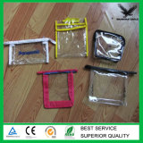 Supply Eco-Friendly Custom Transparent PVC Pouch with Zipper