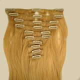 Virgin Remy Blond Clip in Hair Extensions
