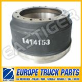 1414153 Brake Drum Truck Parts for (Scania 113)