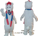 Cartoon Character Party Animal / Mascot Costume for Christmas - White Bear