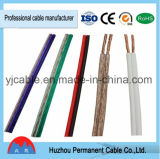 Transparent Speaker Cable, Twin Cable, Parallel Speaker Cable