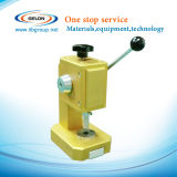 Coin Cell Disc Cutting Machine for Button Cell Electrode Punching