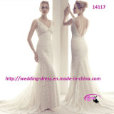 Beautiful Mermaid Embodiment Wedding Bridal Dress for Wedding
