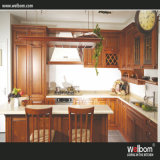 2016 China Standard Solid Wood Kitchen Cabinet