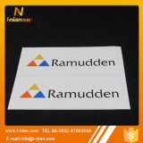 Custom Vinyl Company Logo Embossed Adhesive Label Sticker