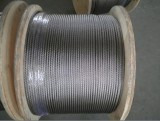 6.0mm 7x7 AISI 316 Stainless Steel Strand Wire Rope and Cable
