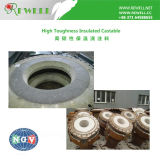 High Toughness Insulated Castable