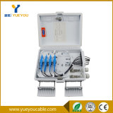 FTTH 8 Drop Cables Fiber Optic Distribution Box with ABS Material