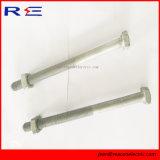 High Tensile Pole Line Hardware 7/8 Inch Diameter Machine Bolt