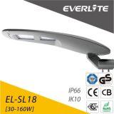 100W IP66 Ik10 SMD& COB LED Solar Street Light 120lm/W GS Ce RoHS Approve