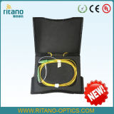 OTDR Wag. Plastic Case Box with G. 657A Launch Cables