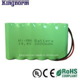 Low Self-Discharge AA2000 14.4V Ni-MH Battery Pack