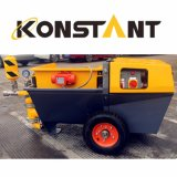 Electric Powered Concrete Building Material Mortar Plastering Machines with Piston Pump for Traditional Mortars
