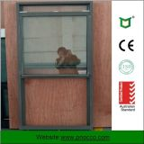 Factory Price Aluminium Single Hung Window with Tempered Glass