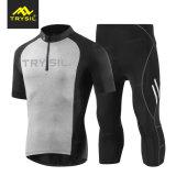 Men Cycling T Shirt Capri Pants Tights Cycling Clothing