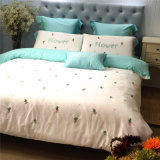 Embroidered Wholesale Cotton Hotel Duvet Cover