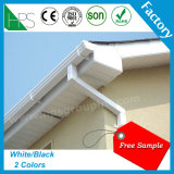 Guangzhou Manufacture Wholesale 5.2&7 Inch PVC Rainwater Roof Gutter Factory Price
