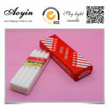 Cheap Price China 12g White Candle in Hot Selling