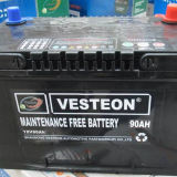 OEM Car Batteries with ISO/Ce/Soncap (90ah)