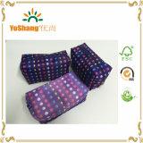 2016 Wholesale Women Satin Printing Cosmetic Bag Set