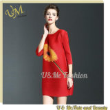 Loose Clothing Women Temperamental Date Dress for Girls