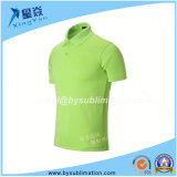 Green Sublimation Quick Dry Polo Tshirt